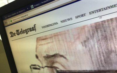 Telegraaf is honderdduizenden artikelen 'kwijt'