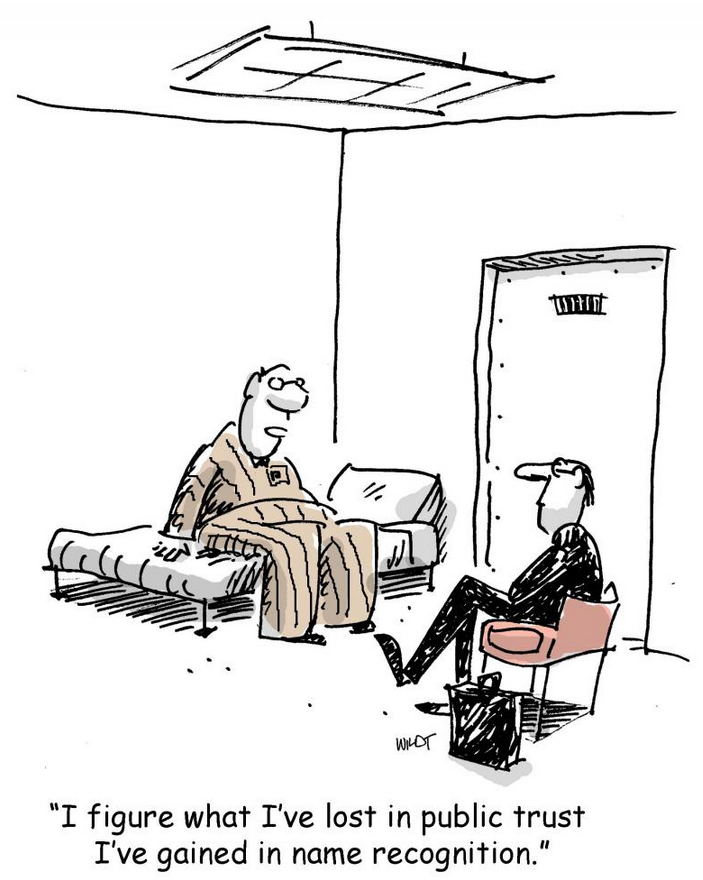 Crisiscommunicatie ... Of toch maar zwijgen? © Chris Wildt