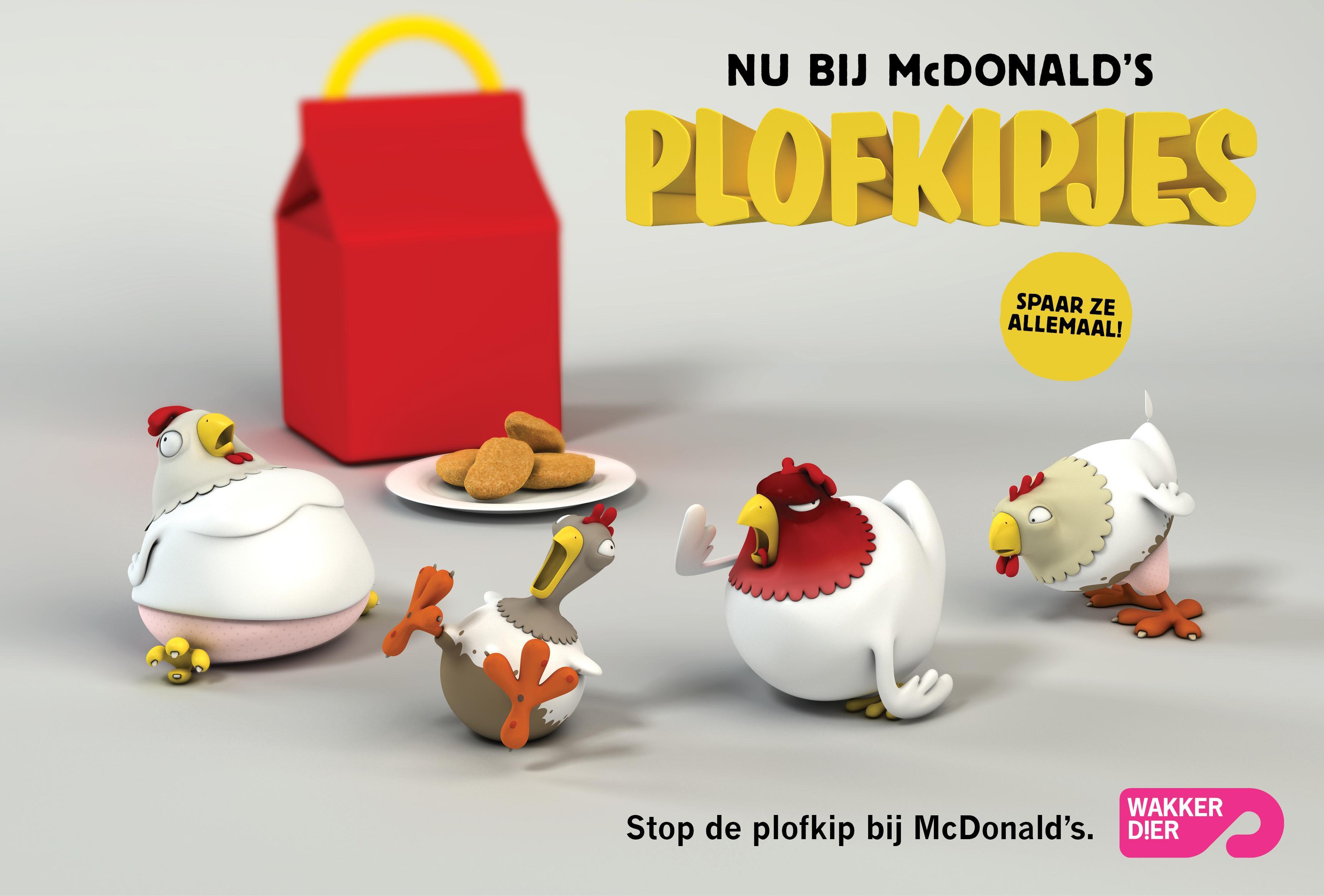 Waarom MacDonald's juist nu 'plofkipjes' in haar Happy Meals moet stoppen